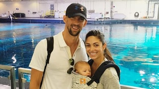 Michael Phelps Promises Son Boomer, 3 Months, Will Be 'Dressed to Impress' at Rio Olympics