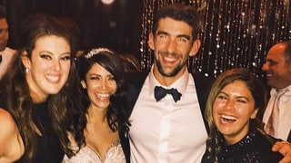 Michael Phelps, Nicole Johnson Celebrate New Year's Eve With Third Wedding Bash: Details