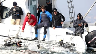 Watch Michael Phelps Talk 'Insane' Great White Shark Race