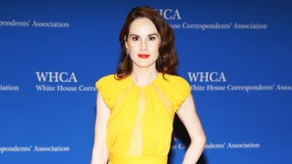 Downton Abbey's Michelle Dockery Makes First Red Carpet Appearance Since Fiance's Death