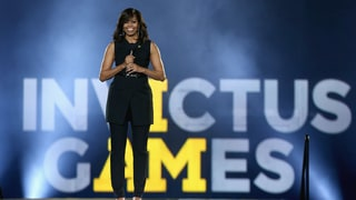 Michelle Obama Makes Black Anything but Basic at Invictus Games Launch