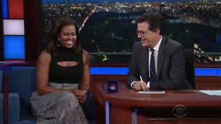 Michelle Obama Does Hilarious Impression of the President, Admits: 'He's Really Into Gossip'