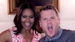 Michelle Obama Joins Snapchat to Announce She'll Be on James Corden's 'Carpool Karaoke'
