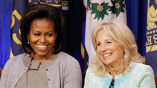 Michelle Obama and Jill Biden: 'We're Family'