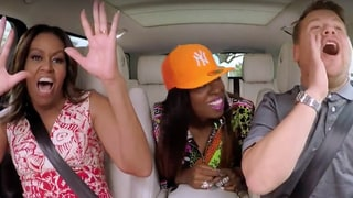 Michelle Obama Gets Her Freak On With Missy Elliott for Carpool Karaoke With James Corden