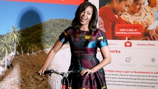 First Lady on Four Wheels