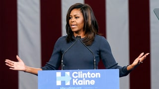 Michelle Obama Calls Donald Trump's Lewd Comments Below 'Basic Standards of Human Decency'