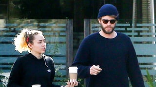 Miley Cyrus, Liam Hemsworth Go on Super Casual Lunch Date: Photo