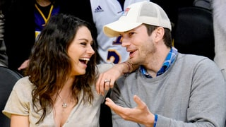 Mila Kunis Keeps Her Ashton Kutcher Engagement Ring Locked Away