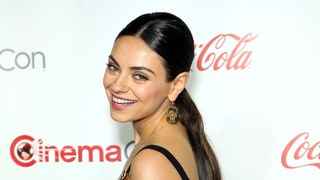 Mila Kunis Stuns in a Cleavage-Boosting Dress on the Red Carpet