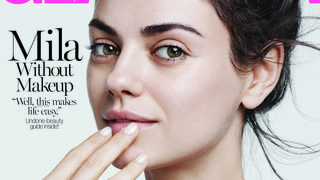 Mila Kunis Goes Without Makeup on the Cover of 'Glamour': 'I Don't Wear Makeup'