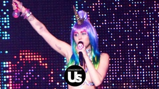 Miley Cyrus Goes Topless at L.A. Concert Attended by Zac Efron, Pamela Anderson