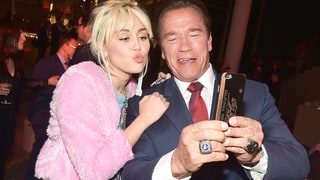 Arnold Schwarzenegger Hangs Out With Son Patrick's Ex-GF Miley Cyrus: 'Eat Your Heart Out'