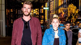 Miley Cyrus and Liam Hemsworth Hold Hands on Date Night in NYC