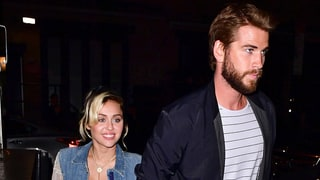 Miley Cyrus and Liam Hemsworth Hold Hands During Night Out in NYC