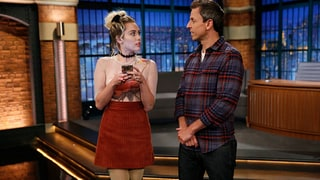 Seth Meyers Tries (and Fails) to Become Friends With Miley Cyrus in Funny 'Late Night' Sketch
