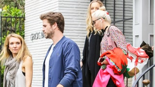 Miley Cyrus and Liam Hemsworth Finally Step Out Together For Family Lunch Date After Getting Engaged Again: Photos