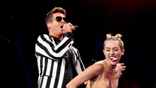 Miley Cyrus and Robin Thicke's Twerk-a-Thon, 2013
