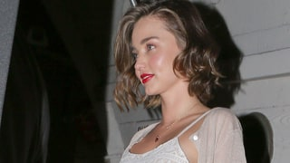 Miranda Kerr Steps Out With Engagement Ring After Evan Spiegel Proposes