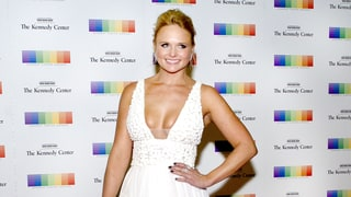 Miranda Lambert Bares Cleavage in White-Hot Plunging Gown