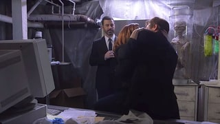 'X-Files' Duo Mulder and Scully Finally Hook Up (Thanks to Jimmy Kimmel): Watch the Funny Sketch!