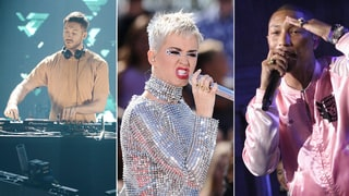 Hear Calvin Harris, Pharrell, Katy Perry's Bubbly Ska Song 'Feels'