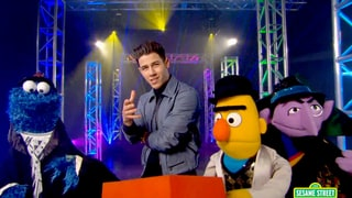 Nick Jonas' 'Sesame Street' Music Video 'Check That Shape' Is Kid-Friendly and Sexy at the Same Time