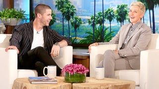 Ellen DeGeneres Grills Nick Jonas About Kate Hudson: Watch