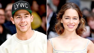 Nick Jonas Recalls 'Highly Embarrassing' First Meeting With Emilia Clarke