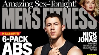 Nick Jonas Shows Off His Insane Abs and Ripped Arms on the Cover of 'Men's Fitness'