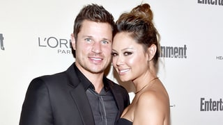 Vanessa Lachey Surprises Husband Nick by Revealing the Sex of Baby No. 3 in Cute Video: Watch