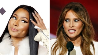 Nicki Minaj Slammed Melania Trump, Then (Kind of) Apologized: 'She Seems Nice'
