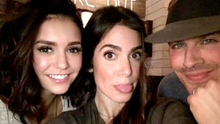 Nina Dobrev and Nikki Reed Take Pics With Ian Somerhalder, Address Feud Rumors