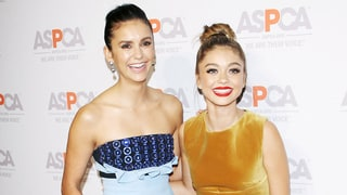Nina Dobrev and Sarah Hyland Shared the Red Carpet With Puppies