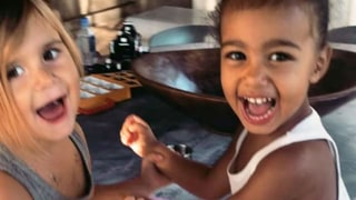 Kourtney Kardashian: Penelope and North Are Obsessed With Makeup Just Like Their Mamas