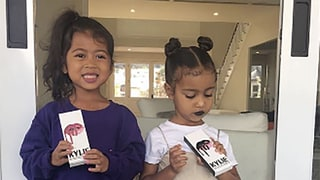Kylie Jenner Lets North West Try Her Lip Kits: 'What Happens at Auntie Kylie's Stays at Auntie Kylie's'
