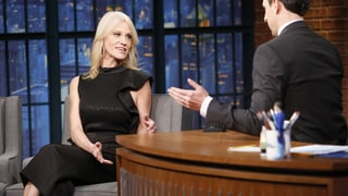 Watch Kellyanne Conway, Seth Meyers Spar Over Trump-Russia Allegations