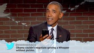 President Barack Obama Slams Donald Trump in Brilliant 'Mean Tweets' Sketch on 'Jimmy Kimmel Live!'