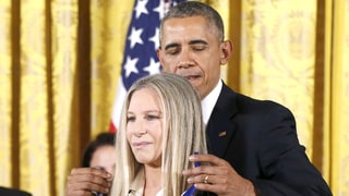 Barack Honors Babs