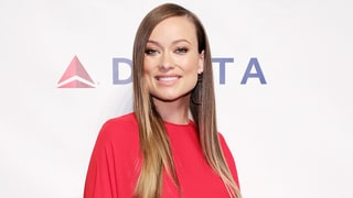 Olivia Wilde's Red Dress Is a Master Class in Pregnancy Style