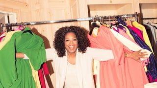 Oprah Cleans Out the Walls and Walls of Shoes in Her 'Work' Closet — And Gives Us a Tour!