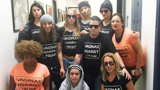 'Orange Is the New Black' Cast and Crew Wear Anti–Donald Trump Shirts: 'Vaginas Against Trump'