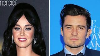Katy Perry and Orlando Bloom 'Look Completely in Love' as They Kiss, Hold Hands at Grammys Party