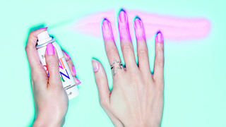 Spray-On Nail Polish Might Solve Our Non-Dominant Hand Manicure Problem Forever