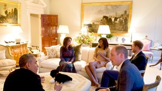 Duchess Kate, Prince William Reportedly Hid Title of Painting for President Barack Obama's Visit to Kensington Palace
