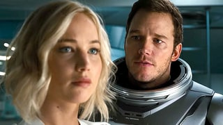 Jennifer Lawrence, Chris Pratt Share Passionate Kiss in 'Passengers' Trailer: Watch!
