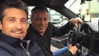 'Friends' Meets 'Grey's Anatomy' When Former TV Doctors Matt LeBlanc and Patrick Dempsey Hang Out