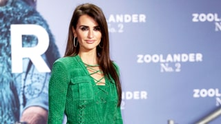 Penelope Cruz Makes a Bold Color Choice on the Red Carpet