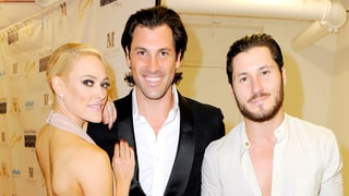 Val Chmerkovskiy Says Peta Murgatroyd Is Delivering the Baby 'Very Soon': Watch!