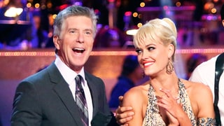 'Dancing With the Stars' Cohost Tom Bergeron Jokes About Peta Murgatroyd's Pregnancy Hormones